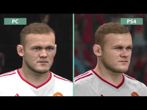 PES  Pro Evolution Soccer 2016  PC vs PS4 Graphics Comparison FullHD60fps