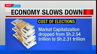 Economy slows down: Cost of elections