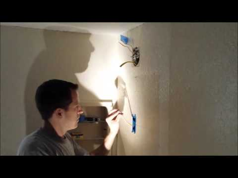 How to add a light fixture to existing circuit