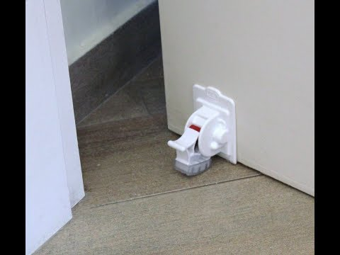 Easy DOOR STOPPER , self adhesive,