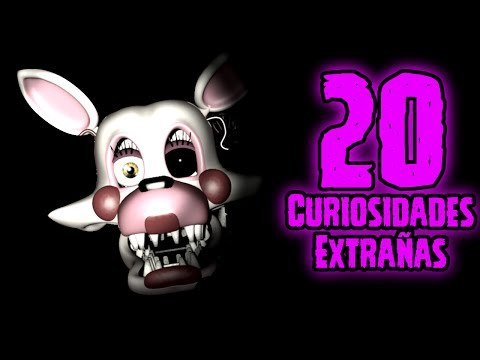 TOP 20: Las 20 Curiosidades Extrañas De Mangle En Five Nights At Freddy's 2 | fnaf 2