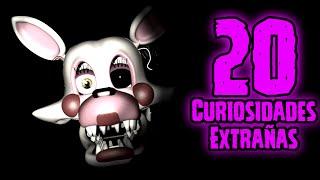 TOP 20: Las 20 Curiosidades Extrañas De Mangle En Five Nights At Freddy's 2   fnaf 2