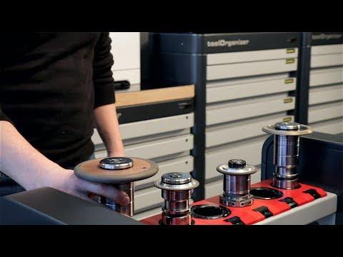 Effizientes Schleifscheiben-Management vom Lager bis zur Schleifmaschine mit ZOLLER-Lösungen