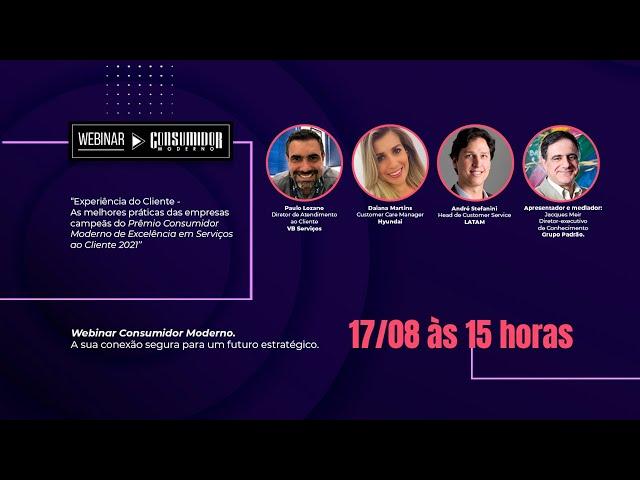 Webinar CM com VB Serviços, Hyundai, LATAM: As melhores práticas das empresas campeãs do Prêmio CM 2021