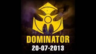 Dr. Peacock @ Dominator Festival 2013 Train of Tremor Stage