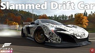 Forza Horizon 4: Slammed McLaren 650S Liberty Walk Widebody DRIFT BUILD! THE BIG MAC