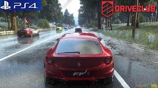 Driveclub - PS4 Race Japan Lake Shoji 1 / Ferrari FF / Dynamic Weather
