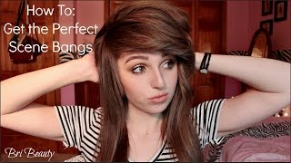 How To Get The Perfect Scene Bangs