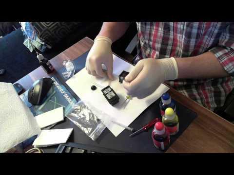 Canon Drucker Patronen Kartuschen nachfüllen