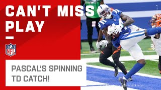 Zach Pascal Makes a Spinning Catch for the TD by NFL