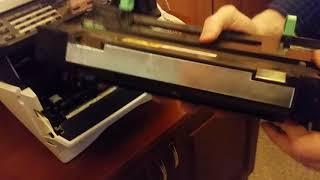kyocera2535 чистка бункера