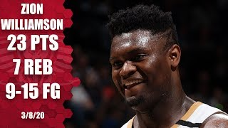 Zion Williamson puts on a dunk show in Pelicans vs. Timberwolves | 2019-20 NBA Highlights