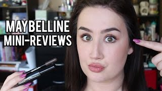 Maybelline Brow Satin + Brow Drama | Mini Review/Demo