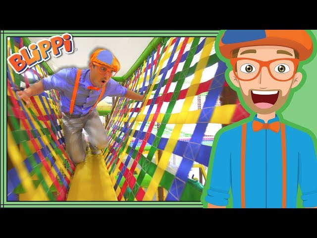 Learning with Blippi at the Play Place   Ultimate Playground Compilation