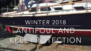 2018 Antifouling and Primocon on the Bilge Plates