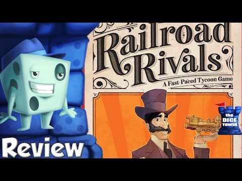 Railroad Rivals Review - with Tom Vasel