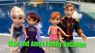 Elsa And Anna Toddlers Packing For Vacation