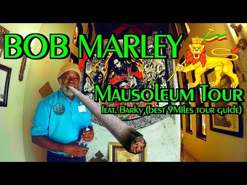Bob Marley House Tour | Grave / Mausoleum and Birthplace in Nine Miles / JAMAICA