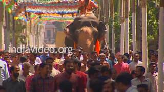 Guruvayoor Padmanabhan at Sri Subramanya Swami Temple, Changanacherry