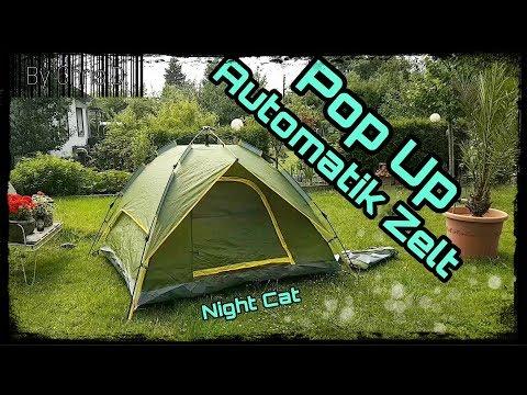Pop-Up Automatik Zelt - einfacher geht's nicht