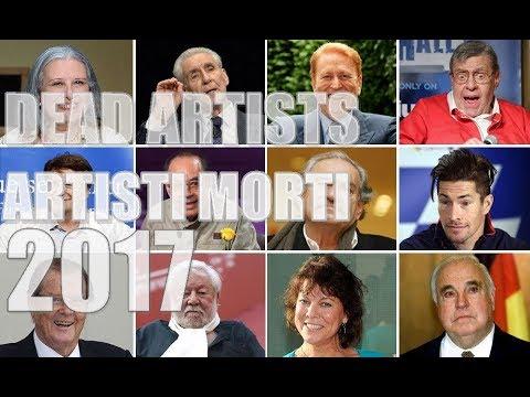 Attori e Artisti Morti Nel 2017