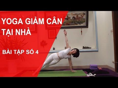 Yoga giảm cân tại nhà - Bài tập số 4 với chuyên gia Nguyễn Hiếu Yoga (Yoga For Weight Loss )