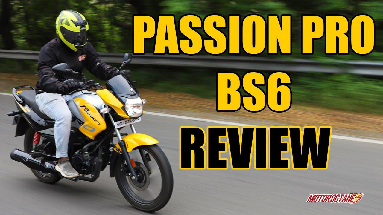Motoroctane Youtube Video - Hero Passion Pro BS6 | Detailed Review | MotorOctane | Hindi