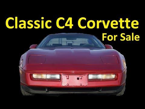 FOR SALE C4 CLASSIC CHEVROLET CORVETTE ~ Z06 Wheels V8 CAR REVIEW