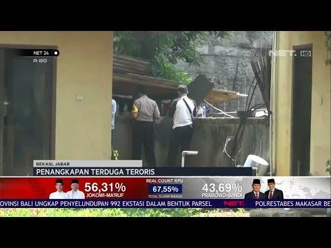 Penangkapan Terduga Teroris di Jatiasih, Bekasi NET24