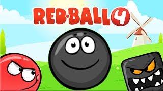 RED BALL 4 КРАСНЫЙ ШАРИК Часть 7 ПОДЗЕМНЫЕ ХОДЫ прохождение ВИДЕО ДЛЯ ДЕТЕЙ  как мультик kids games