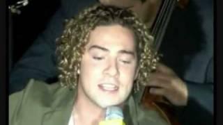 DAVID BISBAL  WHEN A MAN LOVES A WOMAN  & VIDA LOCA Y SOLO OTRA VEZ Live audio popurri