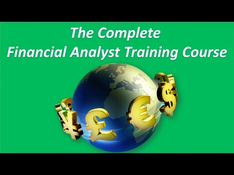 The Complete Financial Analyst Course (See Description for $9.99 ...