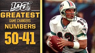 100 Greatest Game Changers: Numbers 50-41 | NFL 100