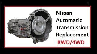 Nissan Pathfinder Xterra transmission valve body removal and