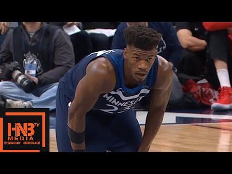 Houston Rockets vs Minnesota Timberwolves 1st Qtr Highlights / Game 3 / 2018 NBA Playoffs