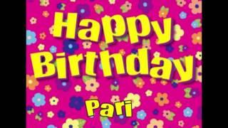 Happy Birthday Pari Song In Hindi