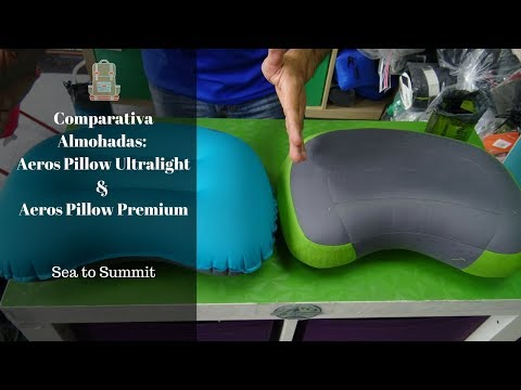 Comparativa Almohadas: Aeros Pillow Ultralight & Aeros Pillow Premium