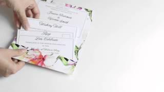 Isabella Wedding Invitation Suite