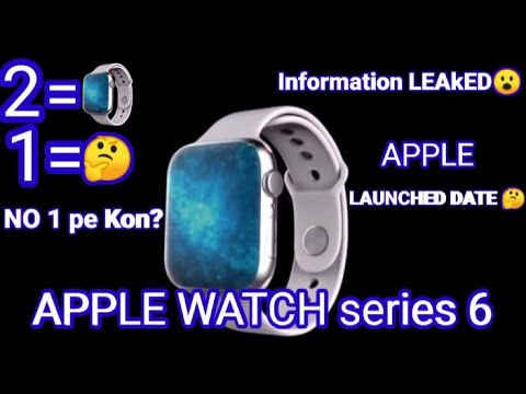 Apple watch series 6 full concept Who stands for no 1 ??😮 information Leaked