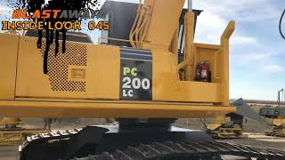 Komatsu Processor Sandblasting for Ritchie Bros Auction!