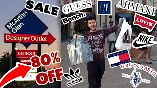 Punjabi Students Shopping || 80% SALE - Vancouver's Biggest Outlet