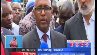 Government re-opens the second phase of the Rai-paper mills in Webuye