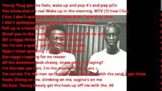 Young Thug ft Skooly Every Morning Lyrics