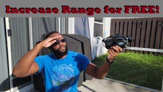 Dji FPV goggles range Mod - Free Range extender