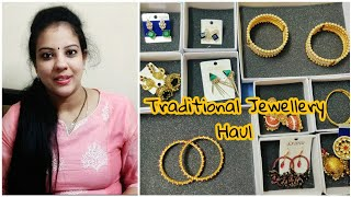 ONLINE SHOPPING HAUL | TRADITIONAL ONLINE JEWELLERY  | JEWELS GALAXY | MADHUSHIKA VLOGS