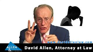 David Allen Legal Tuesday: Is Depression Following Work Comp Injury Compensable?