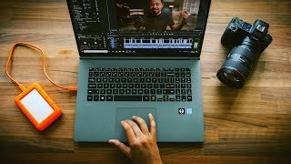 This Laptop is AMAZING for 4K Video Editing in Adobe Premiere Pro!