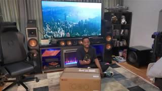 KEF R2C Center Channel Speaker Unboxing
