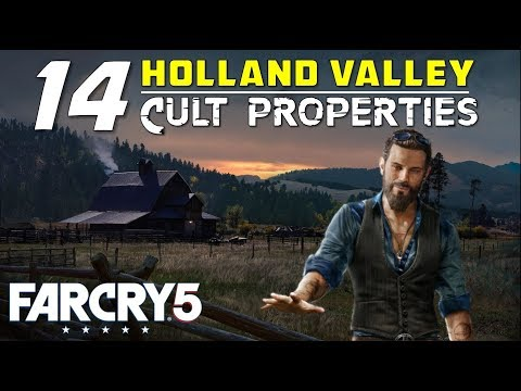 Far Cry 5 Cult Properties Gamerpillar