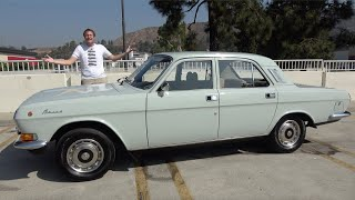 The 1988 Volga GAZ 24-10 Is a Hilariously Bad Soviet Russian Car